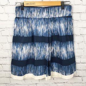 Banana Republic, Geometric Summer Pocket Skirt